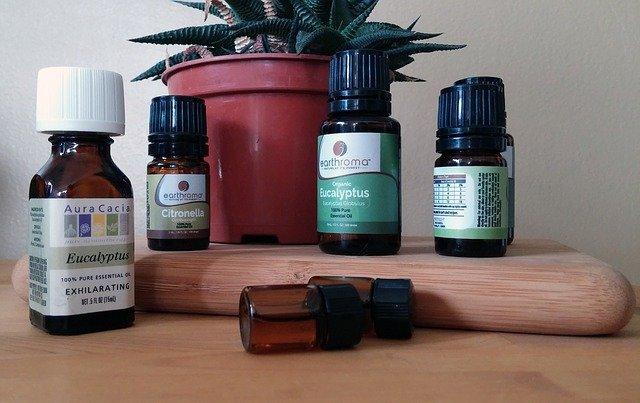 oleje na aromaterapii