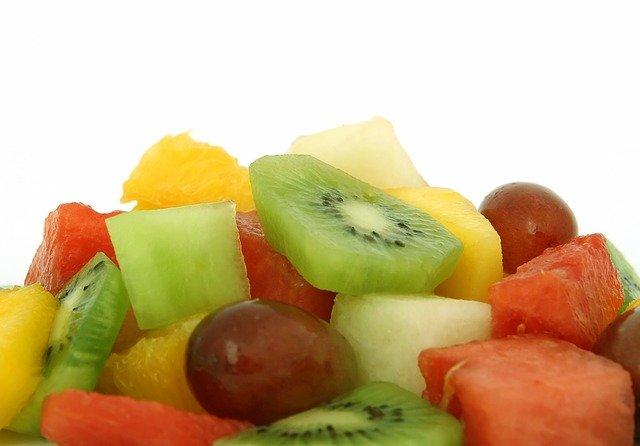 ovoce, kivi, hroznové víno