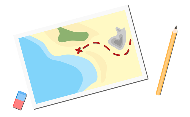 mapa pokladů