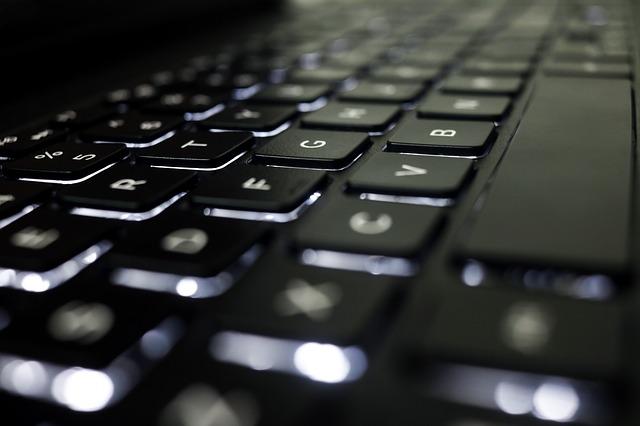 zaplý počítač